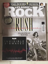 CLASSIC ROCK + Free CD May 2020 RUSH Making Of PERMANENT WAVES Neil Peart DOORS