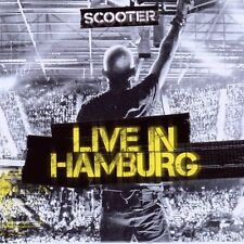 "SCOOTER ""LIVE IN HAMBURG 2010"" CD 16 TRACKS NEU"