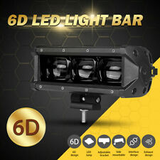 8Inch 30W 6D LED Work Light Bar Flood Beam Driving Fog Lamp for ATV UTV Offroad