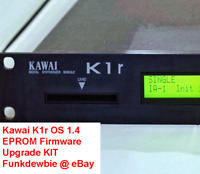 Kawai K1r OS 1.4 EPROM Firmware Upgrade KIT / New ROM Final Update Chips K1-r