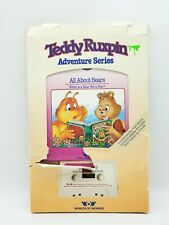 New ListingTeddy Ruxpin Vintage Book & Tape All About Bears in Original Packaging