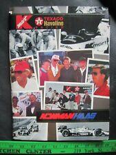 Paul Newman -Nigel Mansell -Mario Andretti -Texaco Newman/Haas Indycar Media Kit