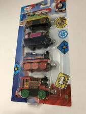Thomas & Friends Track Master Metal Engine Percy Ashima Victor Push Along Train