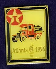 Texaco Olympic Game Tack Pin Atlantic 1996 March Olympics Sports Mem, Cards & Fan Shop