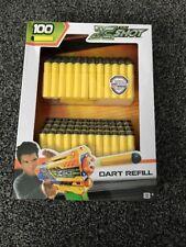 X Shot , Nerf , Buzzbee , Air Warriors , 100 Bullets/darts! Refill Kit!!
