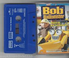 MC - Bob der Baumeister -hurra es schneit - Europa Mini Kassette
