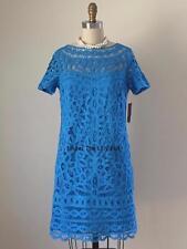 NWT $378 Lilly Pulitzer MARIEKATE Lace DRESS Sz MEDIUM 6 8 Blue Wedding SALE