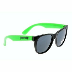 Thrasher Logo black/green Sonnenbrille