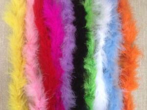 2 m FUR TRIM FLUFFY FEATHER TRIMMING  Chicken Feather Strip