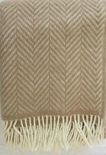 lana cuadros manta de Cubierta Sofá Colcha 140x200cm 100% HECHO EN ALEMANIA