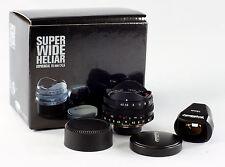 Voigtlander Super Wide Heiliar 4.5/15mm Aspherical, #9934317 in original box
