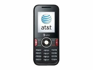 Huawei U2800A - Black (AT&T) Cellular Phone