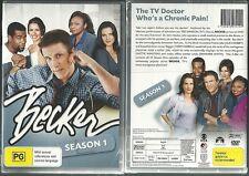 BECKER COMPLETE SEASON ONE 1 TED DANSON TERRY FERRELL HILARIOUS NEW 3 DVD SET