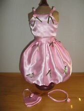 "Satin Skirt, Top, Purse & Headband to fit any 18"" Dolls ~ Retired"