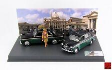 Taxi piazza San Pietro Roma Alfa 1900 +Fiat 1100   1/43 RIO4331/D MADE IN  ITALY