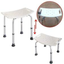 Elderly Bath Shower Chair Adjustable Medical 7 Height Bench Bath Stool Seat