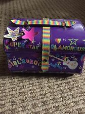 Claire's  Girls Small Travel Case MAKEUP BAG Cute~ Gently Used . Hard Shell