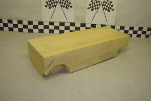 Pinewood Derby Pre-cut #18 Wood Block, Long Wheel Base, Create Your Own Car!
