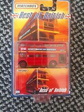 Matchbox Super Fast 'Best of British' #9 Double Decker Bus