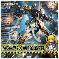 Detail up Metal parts For Bandai MG Hyaku-shiki Gundam Model Kit