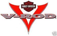 HARLEY DAVIDSON VERY RARE V ROD DECAL (XL)