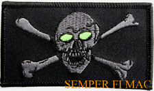VMGR-352 RAIDER SKULL CROSS BONE PATCH SWAT IRAQ MCAS EL TORO MIRAMAR PILOT CREW