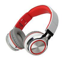 Casque Blanc écouteurs Écouteur Stéréo câblé avec microphone