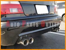 OE Type Carbon Fiber Rear Diffuser Lip (Quad Exhaust) For 96-03 BMW E39 M5 Only