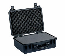 MALLETTE VALISE ETANCHE + MOUSSES 462x360x175mm photo drone arme video malette