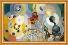 Air, Iron, and water Robert Delaunay elementos aire agua torre eiffel B a3 03172