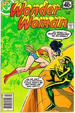 Wonder Woman 254 Vol 1 vs the Angle Comic Book DC Comics 1979 Jet Tiara