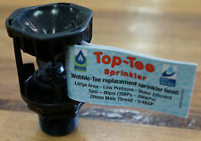 Wobble Tee Water Efficient Sprinkler Top Only Australian Made
