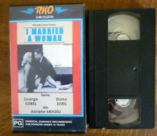 I MARRIED A WOMAN RKO Classic Collection PAL VHS Diana Dors