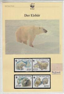 Wwf 1987 USSR Der Eisbär Chapter Kplt