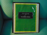 JOHN DEERE 110 LOADER BACKHOE TRACTOR  SERVICE REPAIR MANUAL BINDER 1987