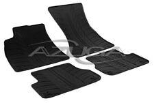 Gummimatten für Audi A6 (4G) ab 2011-/A7 Gummi-Fußmatten mit Clips Reifen-Design