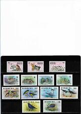 Antigua & Barbuda, three complete series sc 238/43, 1010/13 and 1292/94. mnh.