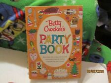 Vintage 1960 Betty Crocker's Party Book Hardcover by General Mills