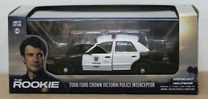 Greenlight 86586 2008 Ford Crown Vic Police Interceptor The Rookie TV  1:43 MIB