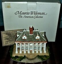 Maurice Wideman*Plantation House Ac-012 * American Collection*Coa & Box*J.Hine