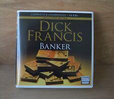 DICK FRANCIS: Banker / Unabridged Audiobook /  8CDs