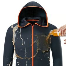 Men Fishing Clothes Tech Hydrophobic Clothing Outdoor Camping Anti-UV Hooded