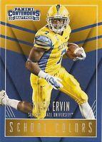 TYLER ERVIN 2016 Contenders DRAFT School Colors #21 ROOKIE CARD San Jose State