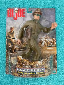 GI JOE 1:6 ACTION FIGURE KOREA U.S.A.F. BY HASBRO, ADVENTURE TEAM MILITARY