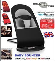 Baby Bouncer Chair Newborn Infant Rocking Balance Soft - UK Stock