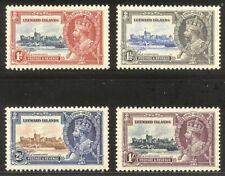 LEEWARD #96-99 Mint NH - 1935 Silver Jubilee ($45)
