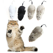 Winding Mechanism Mouse Toy Gift For Cat Dog Pet Trick Playing Plush Motion Rat