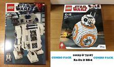 🔹NEW🔹 Lego Star Wars UCS 10225 & 75187 R2-D2 & BB-8 Sets 🔹SEALED🔹🔹