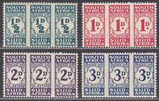 South Africa 1943-44 Postage Due Set UM Mint SG D30-D33 cat £75 MNH