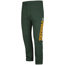 Majestic Men's Big/Tall NFL Just Getting Started Pant Packers 4XL #NJUBV-M37